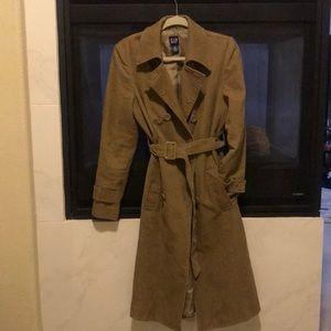 Gap Corduroy trench coat
